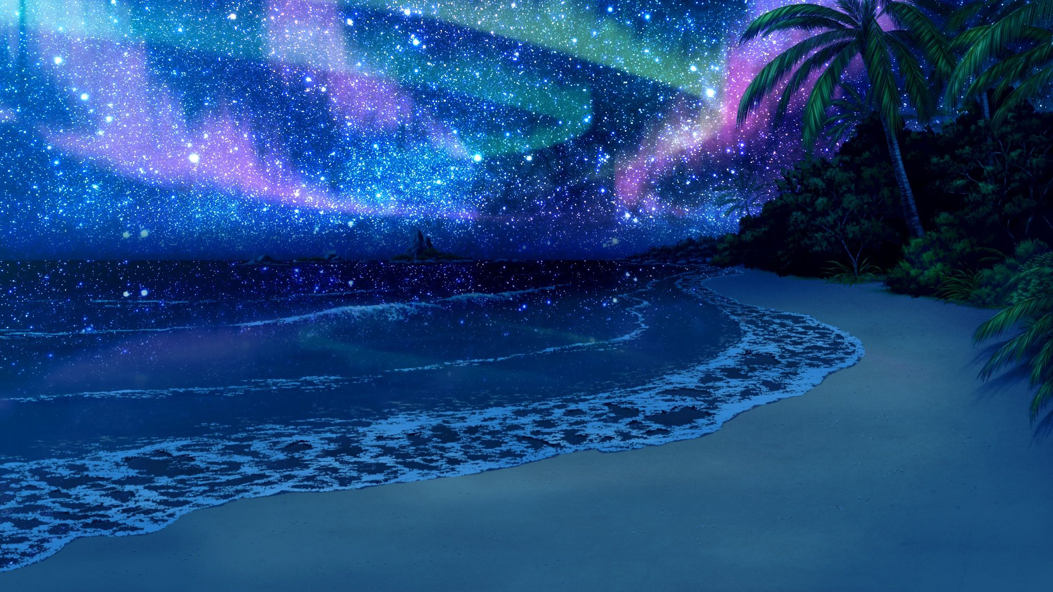 beach scenery at night wallpaper | fantasy | pinterest | beach