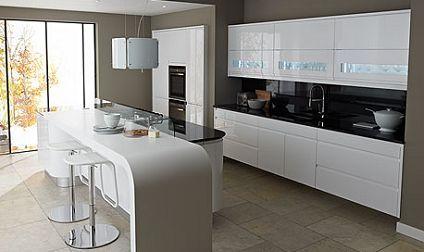 go super sleek with this ultra modern schuller kitchen | german ... - Schller Kche