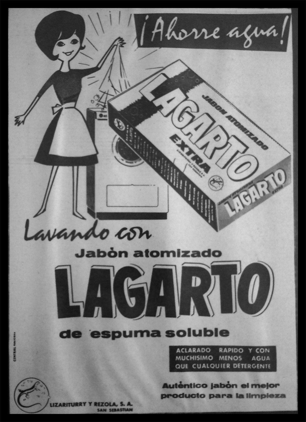Jabon Lagarto Anuncios Viejos Jabones Lagartos