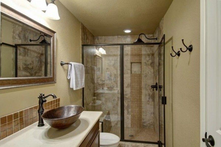 29 Stunning Basement Bathroom Ideas For Small Space Bathroom Bathroomideas Bathroomi Basement Bathroom Design Basement Bathroom Remodeling Basement Bathroom