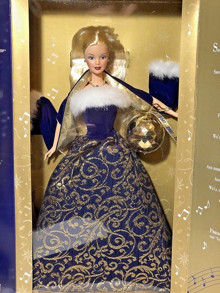 Ring in the New Year 2001 Barbie Doll 52742 Box Has Never
