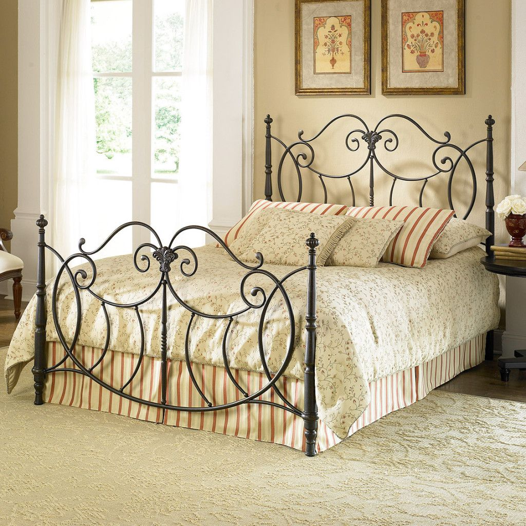Wrought Iron Beds Part - 42: Iron Bed Bedroom - Google Search