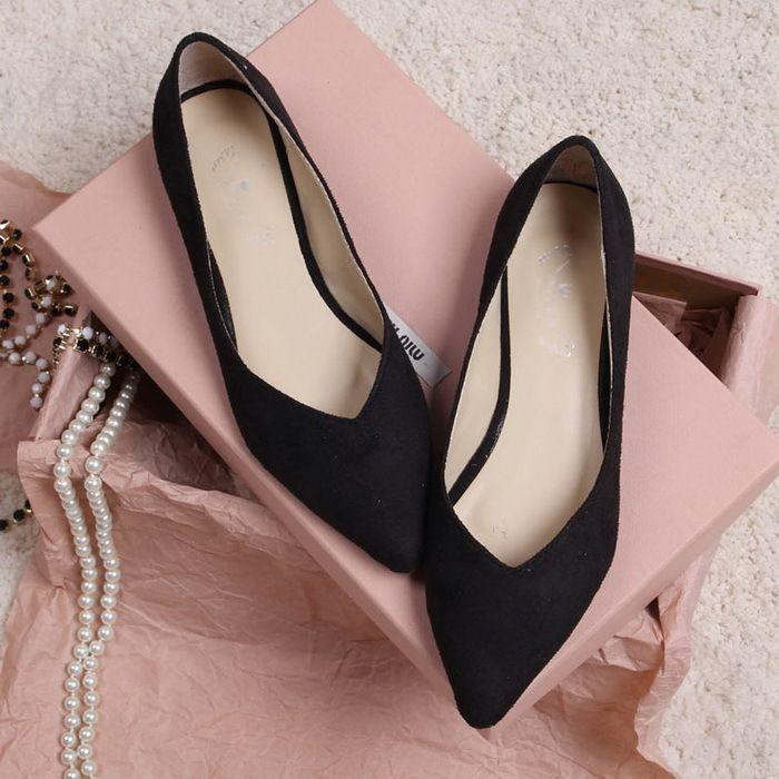 Shoes flats winter