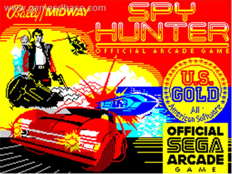 Spy Hunter (ZX Spectrum) Hunter games, Classic video