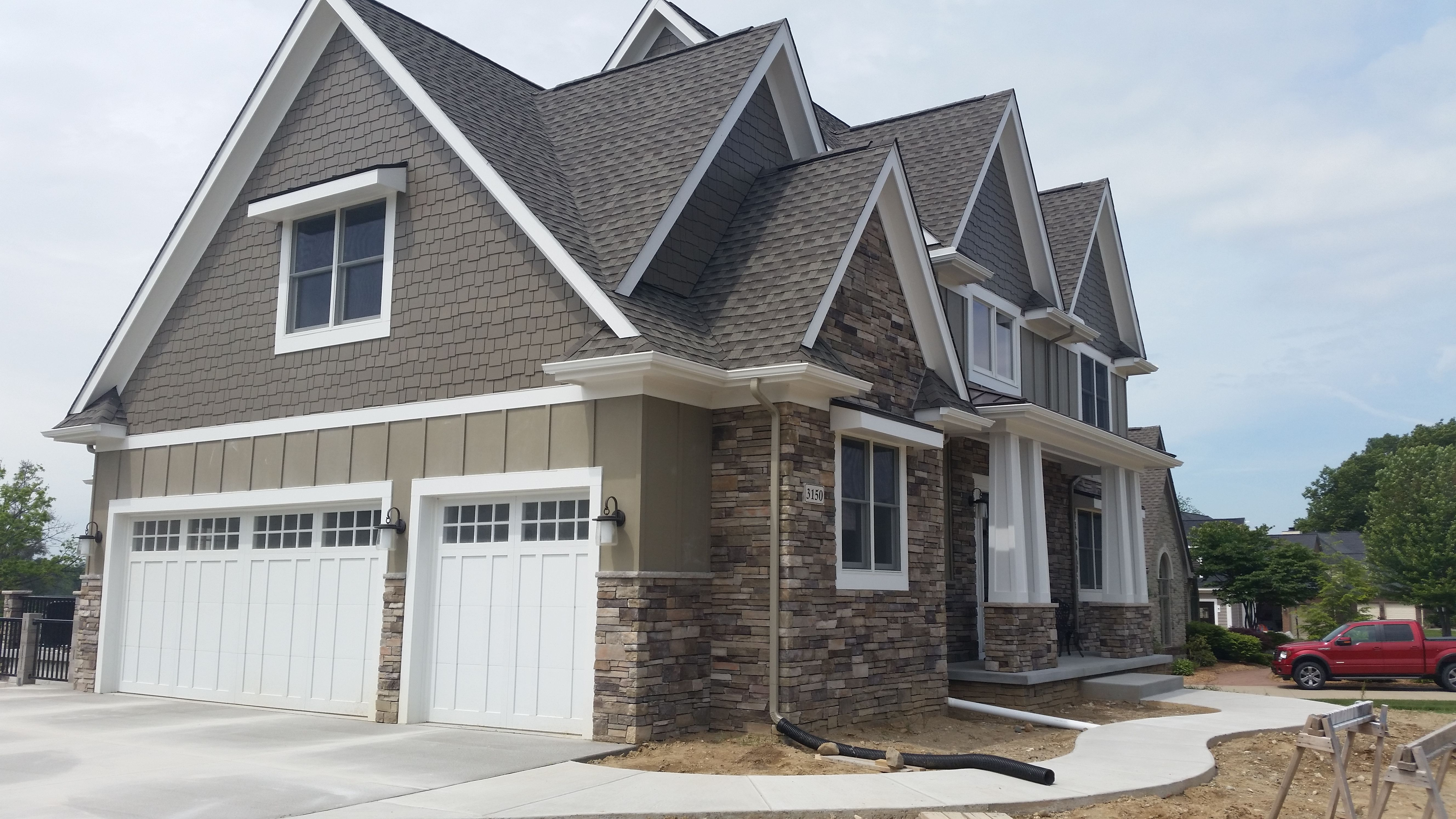 Country Home Exterior Color Schemes bucks county country ledgestoneboral cultured stone | exterior