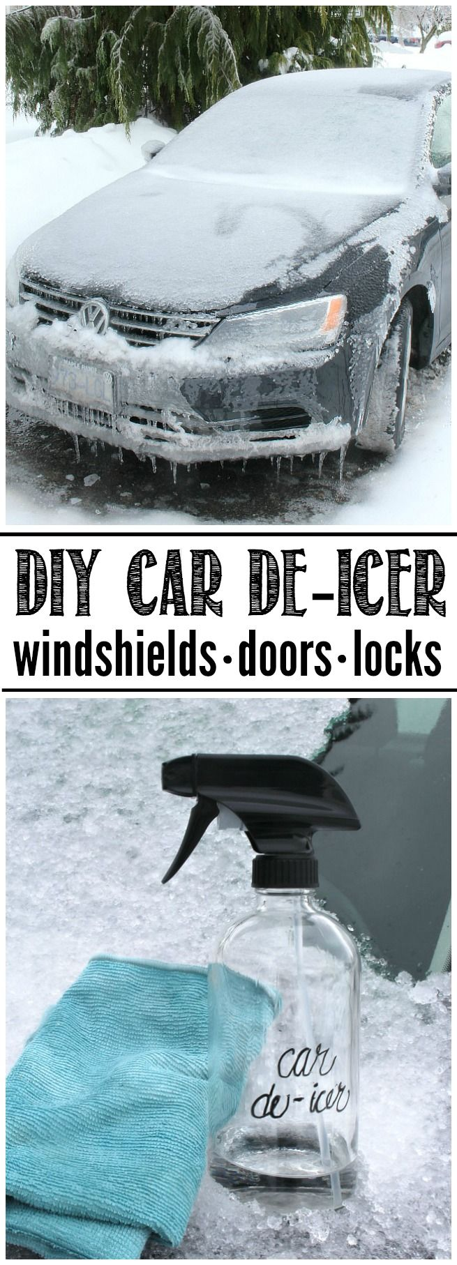 Simple Diy Car De Icer Clean And Scentsible Diy Car Deep Cleaning Tips Car Hacks