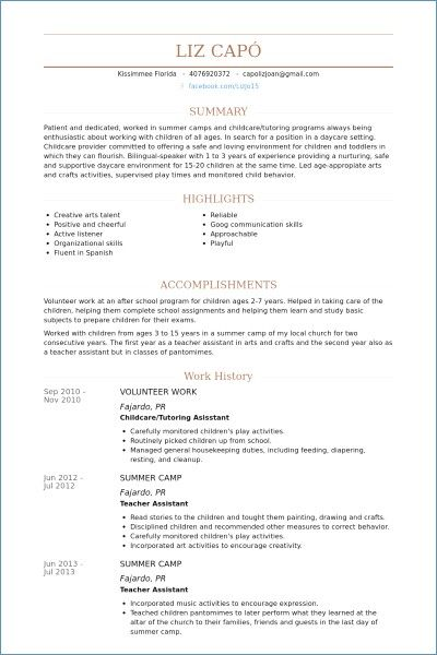 Resume Templates Volunteer Work Resumetemplates Resume