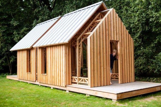 Abri de jardin accord on par caspar schols architecture abri de jardin maison modulable et - Baraque de jardin ...
