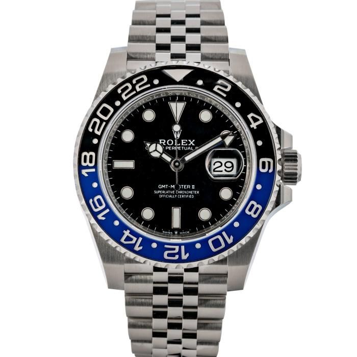 Rolex GMT-Master II Stainless Steel 40mm (126710BLNR) #stainlesssteelrolex