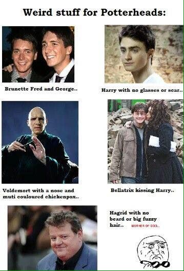 For Me It S Not So Much The Fact That Bellatrix Is Kissing Harry It S The Fact That Harry Is Stood Th Harry Potter Memes Harry Potter Funny Harry Potter Cast