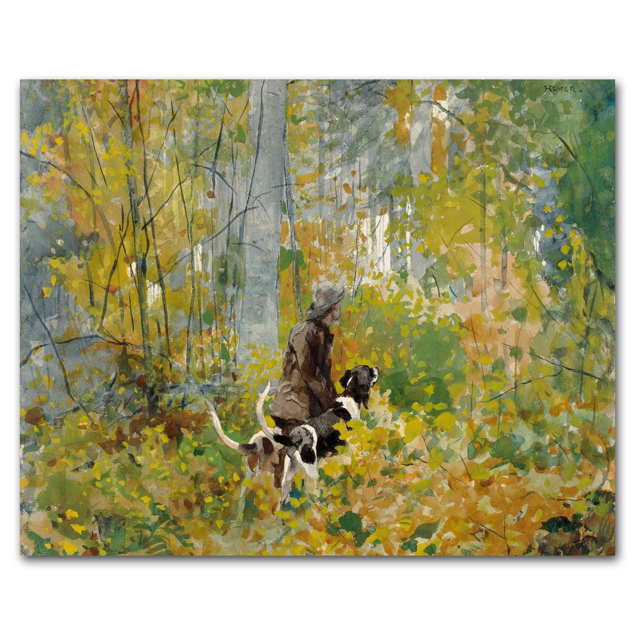 Digital Download Hunting Dog Art (Printable Fall Decor, Forest Wall ...
