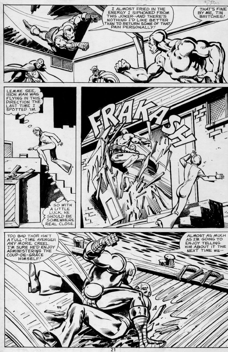 Avengers 184, page 21