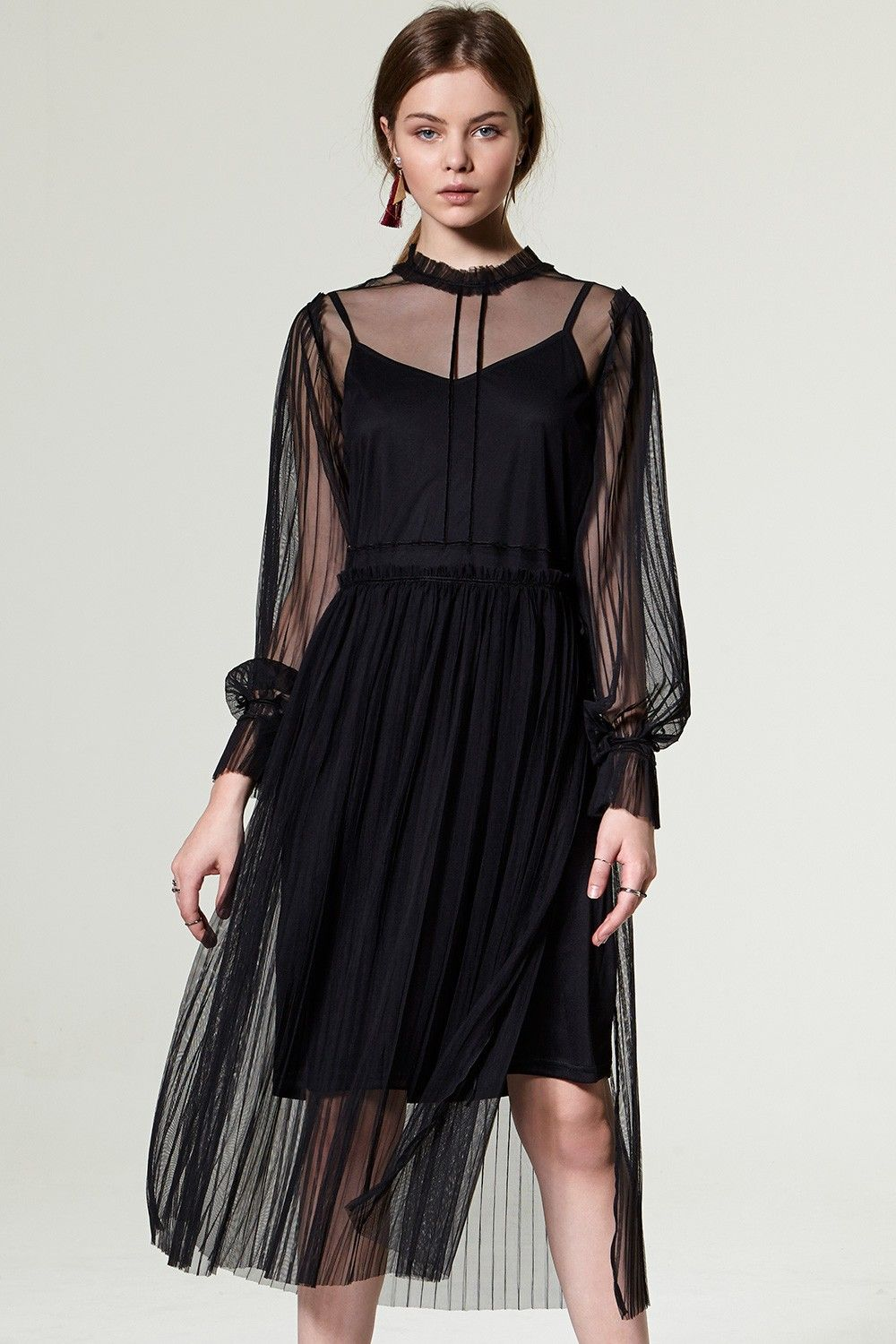 Sabro layered see through dress discover the latest fashion trends