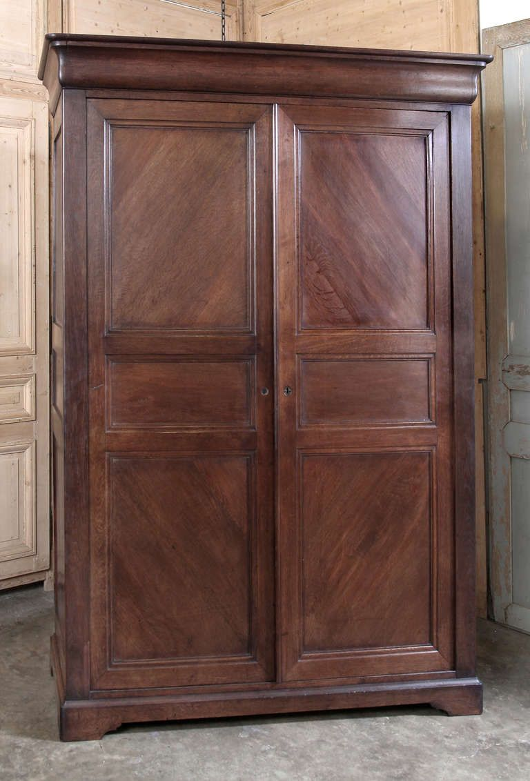 19th Century Country French Louis Philippe Armoire ~ Saturday Sale ~
