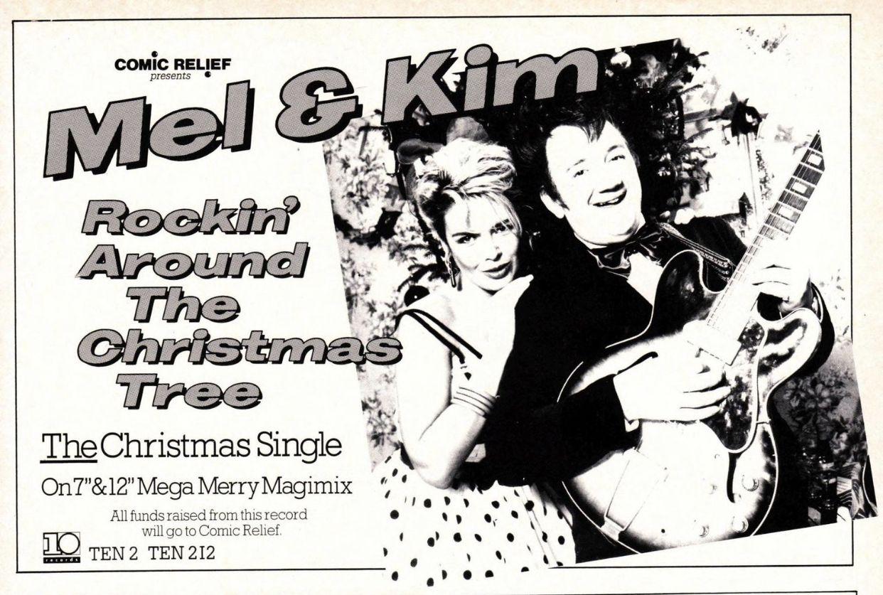 Rockin Around The Christmas Tree Mel And Kim.Pin By Barnaby Dickenson On Retro Christmas Christmas