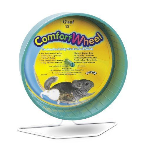 Amazon Com Kaytee Giant Comfort Exercise Wheel 12 Inch Colors Vary Rat Exercise Wheel Pet Supplies Small Pets Exercise Wheel Pets