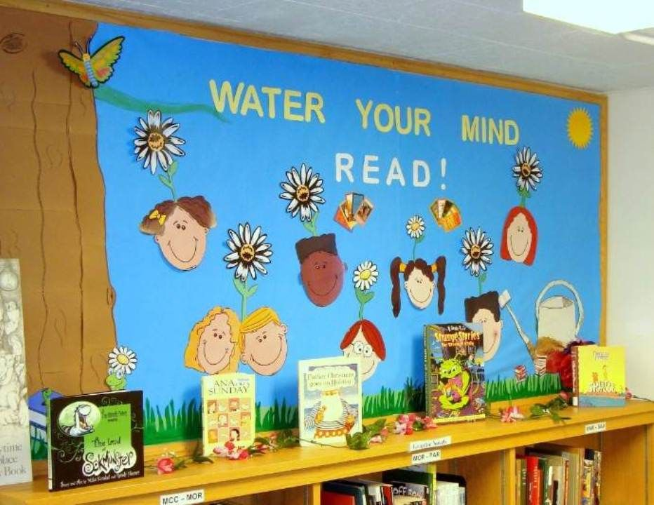 Innovative Classroom Displays ~ Elementary school library bulletin board ideas