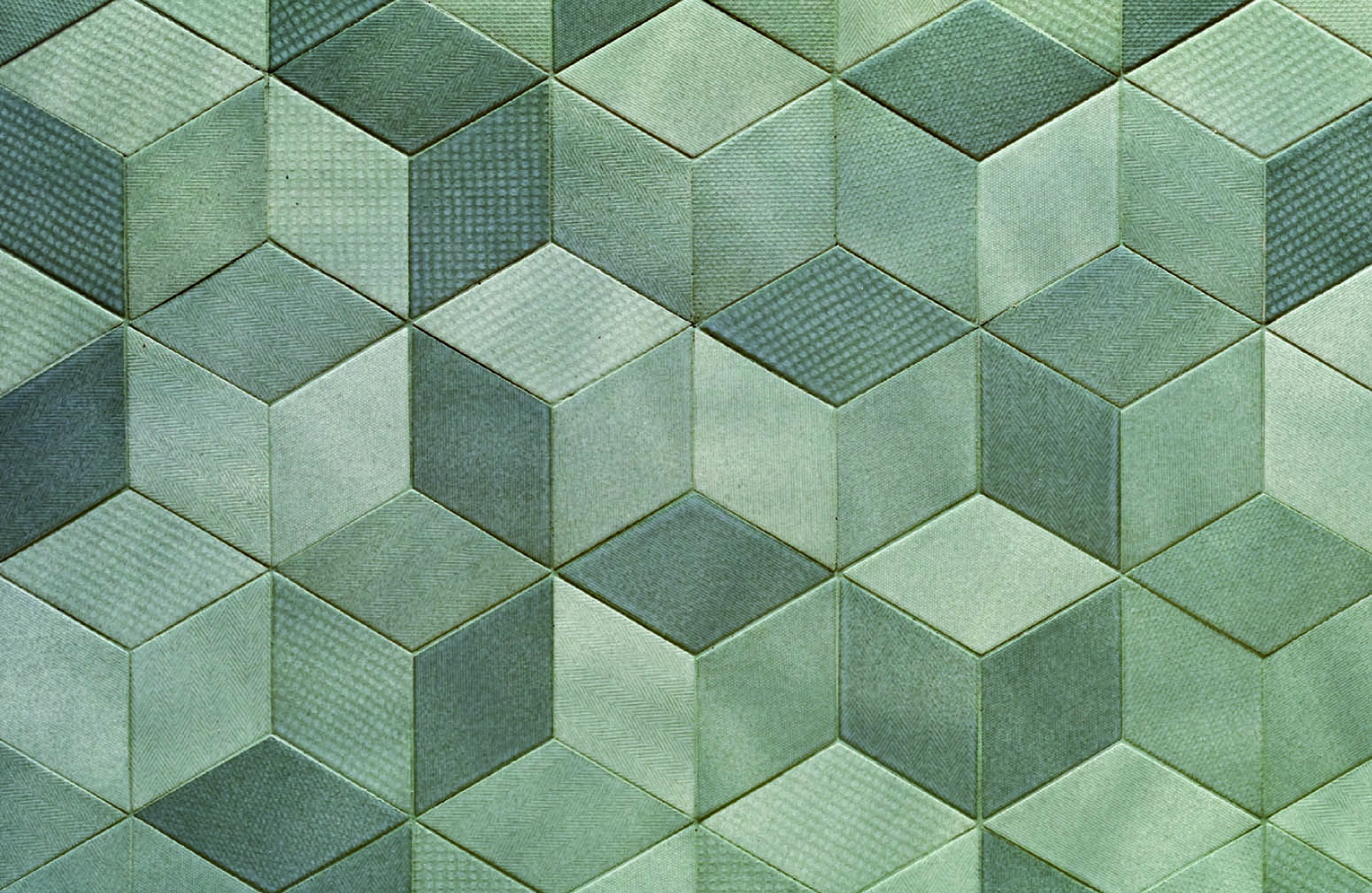 Rumble in the rhombus: tex tile weave inspired ceramic tiles tex