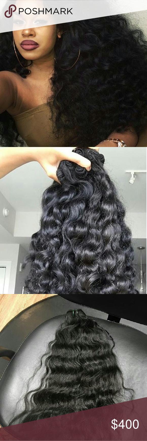 300g Virgin Hair Extensions 100g Per Bundle Origin Cambodia Approx