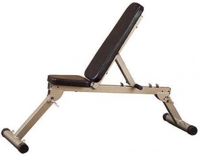 10 Flat Incline Decline Folding Bench Workout Fitness FID Equipment Strength NEW #WorkoutFitness