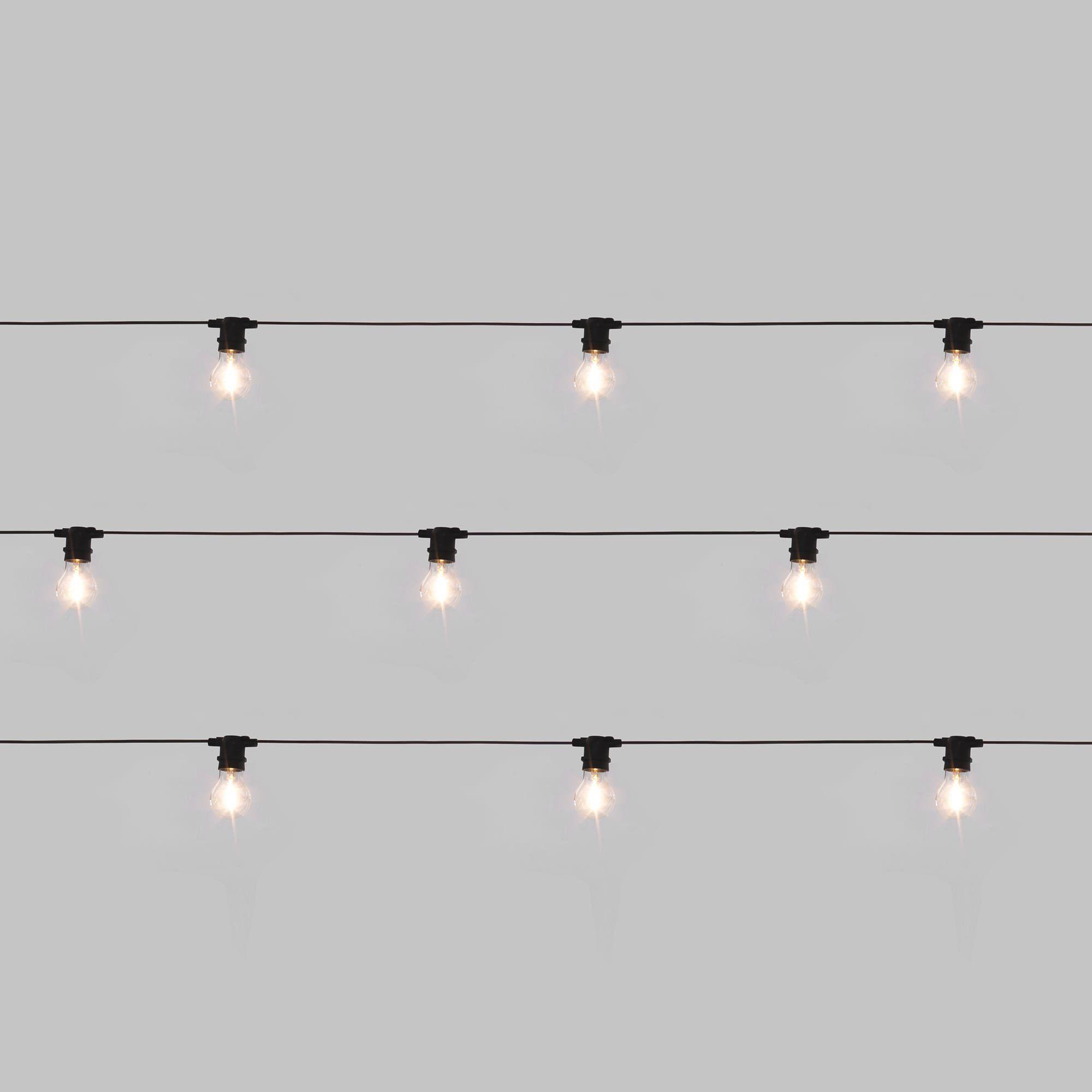 Bella Vista Set Of 10 Lights In Clear Design By Seletti Vista