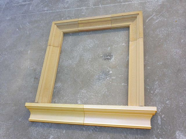 Moldura para la ventana ideas diy pinterest window - Molduras de madera para pared ...
