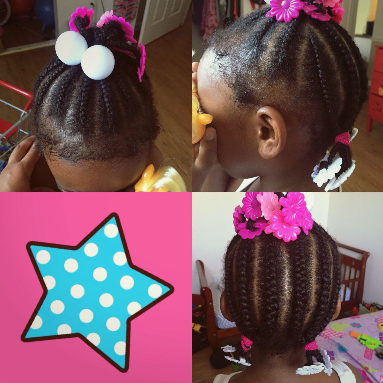 Cute hairstyle for natural african american hair cute hairstyle for