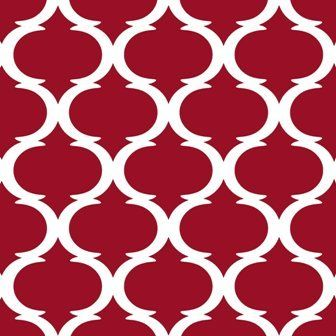 Tilez by Indigo Root TZF13CC19 Classy Clean Ruby Red 12 x