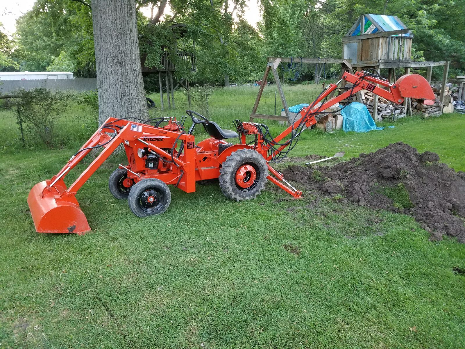 Pin By Knud On Terramite Economy Tractor Small Tractors Tractor
