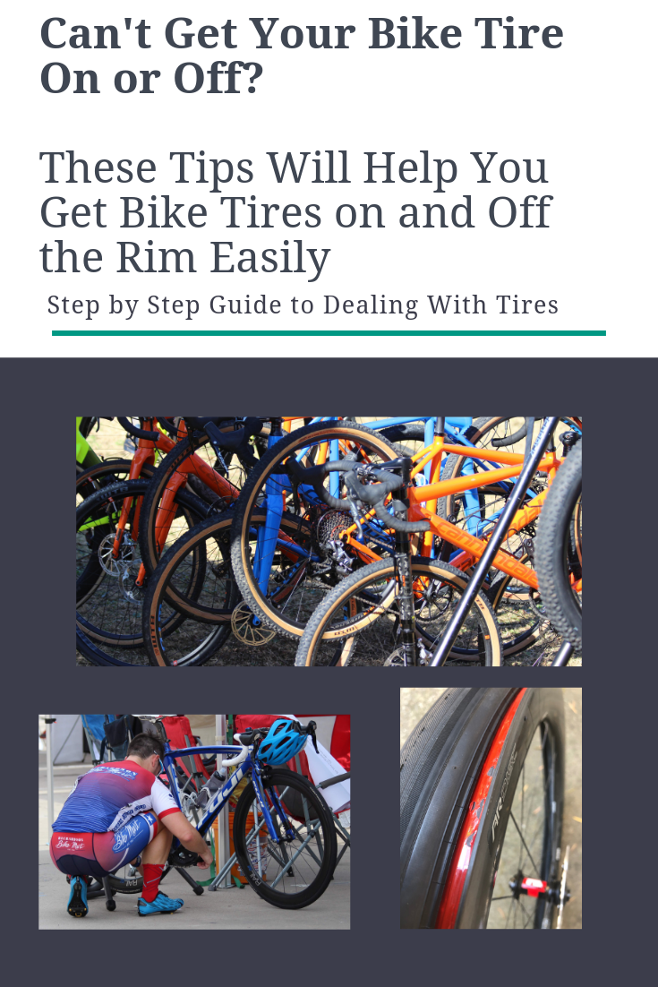 Can T Get Bicycle Tire On Or Off Rim Try These Tips Bicycle