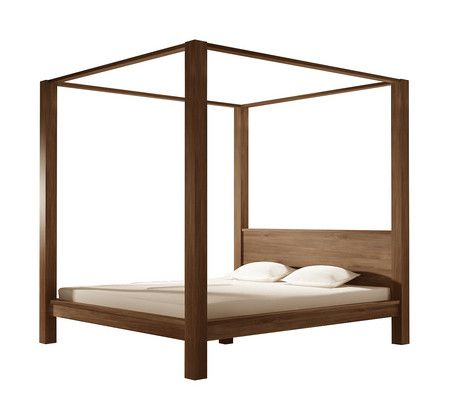 Carpenter Canopy King Bed - Beds