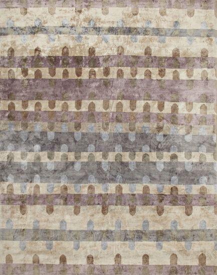 Città - a carpet inspired by a city's skyline | 8' by 10' #Luxury #Handmade #Carpet