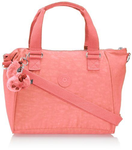 Kipling Womens Defea Handbag Pink Coral Kipling to enter online ...
