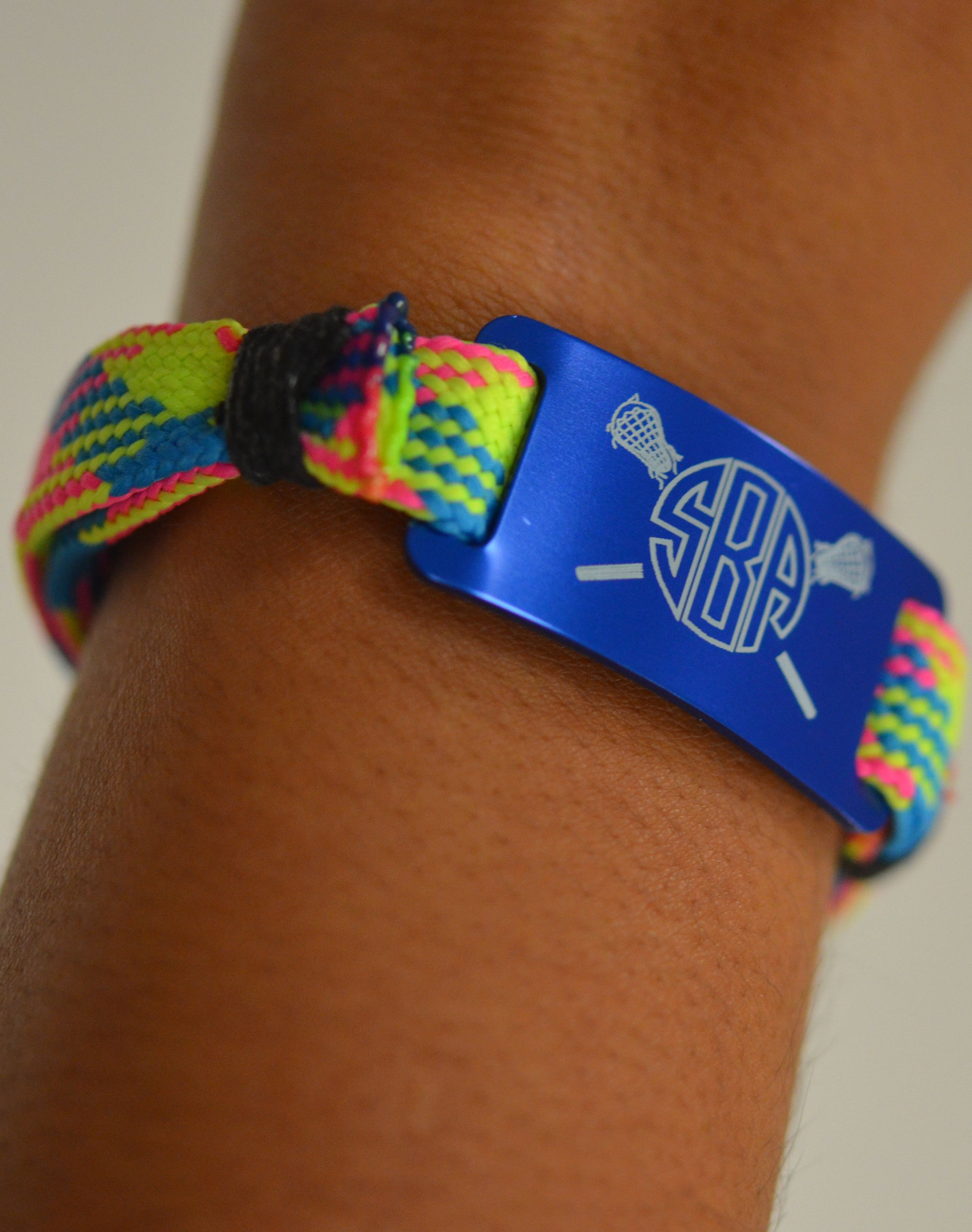 Look how cool our lace bracelets look on they are an awesome option