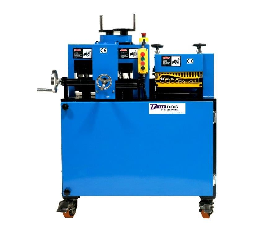 BWS-100v2 Copper Wire Recycling Machine. Recover the copper from ...
