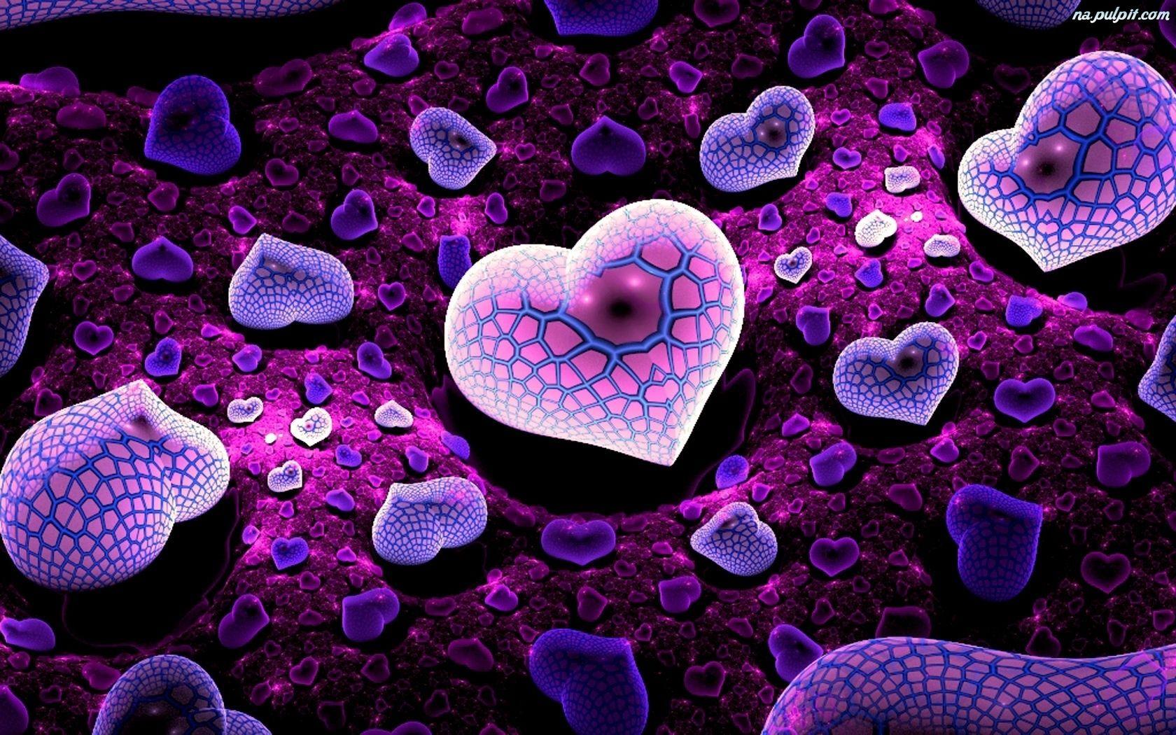 Pin Kosmiczne Tapety Na Pulpit On Pinterest Heart Wallpaper Hd Heart Wallpaper Purple Wallpaper