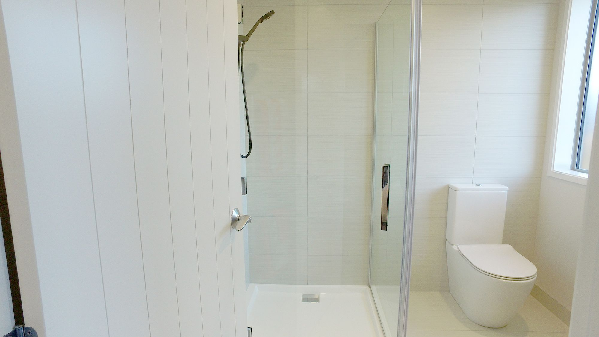 Athena Lifestyle tiled shower Alcove enclosure 1mx1m with 2 x wall ...