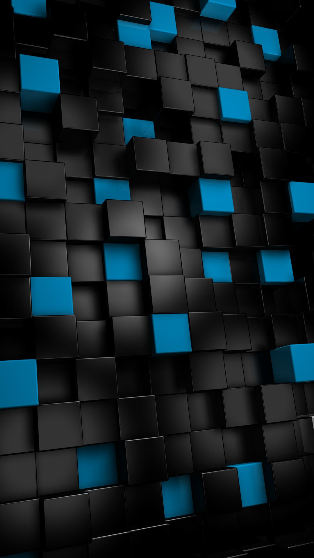 Abstract black cubes Htc wallpaper, Iphone 6 plus