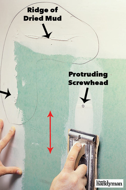 How To Sand Drywall Home Repair Drywall Repair Drywall