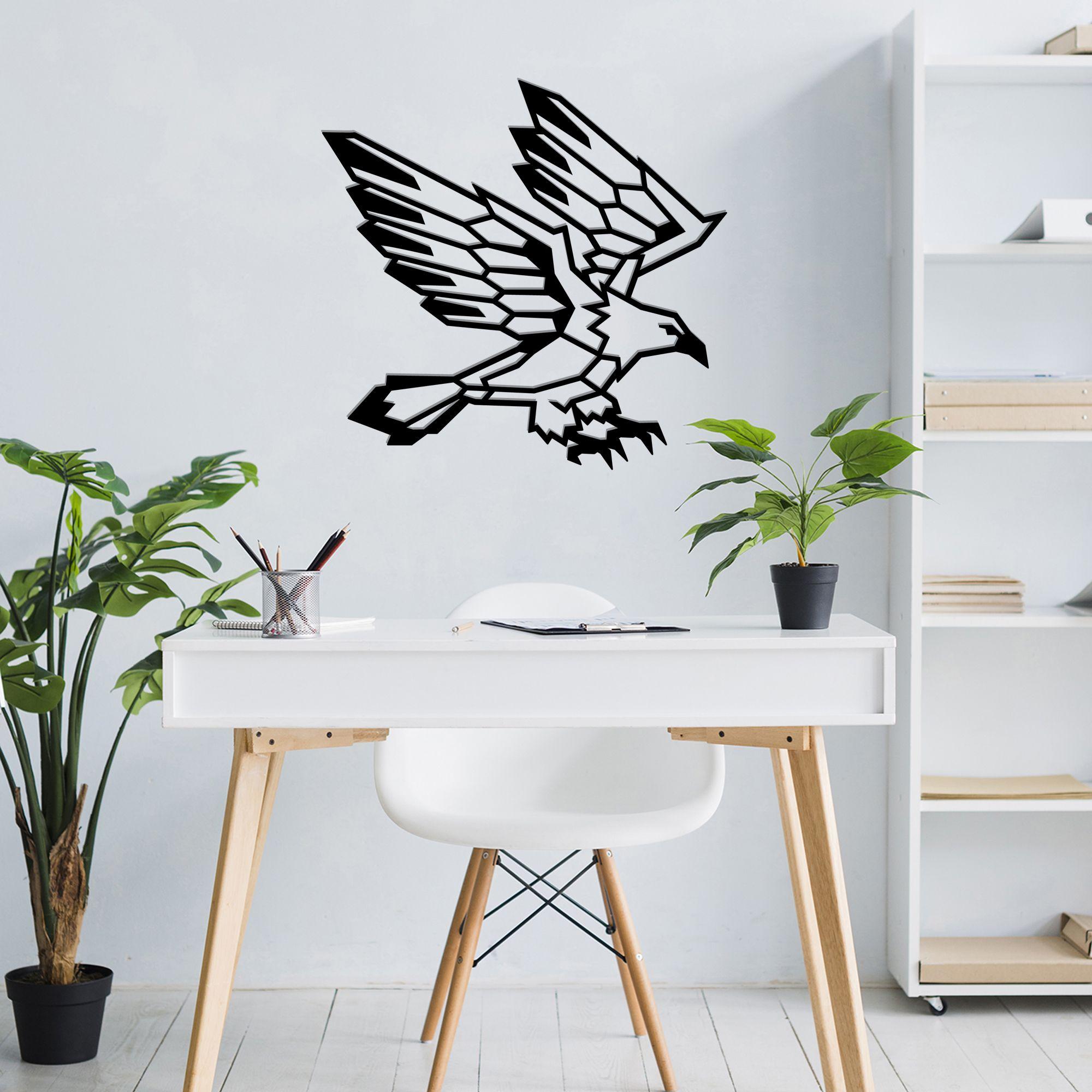 Eagle wall art metal wall decormetal wall art geometric