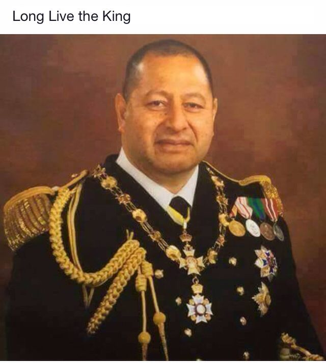 Tupou Vi King Of The Kingdom Of Tonga Oceania Filatelia
