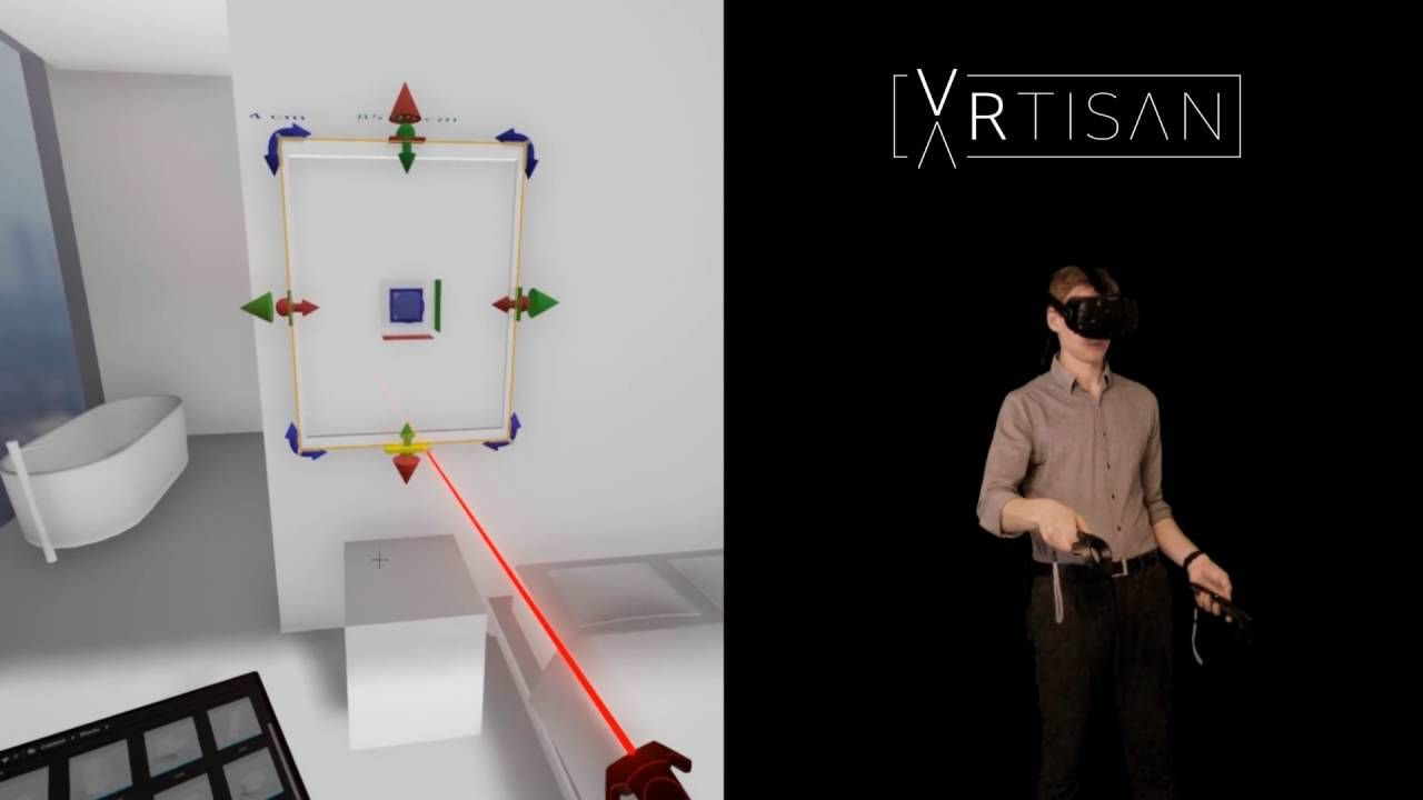 Architectural Design in Virtual Reality - VRtisan - Unreal