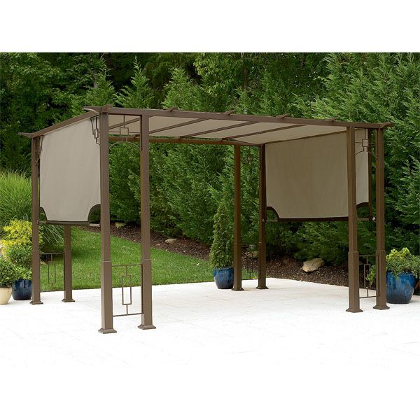 Garden Oasis Deluxe Pergola Replacement Canopy Pergola Backyard Canopy Canopy Outdoor