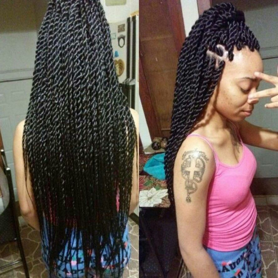 Medium Senegalese twists by me  hair  Tresses vanille