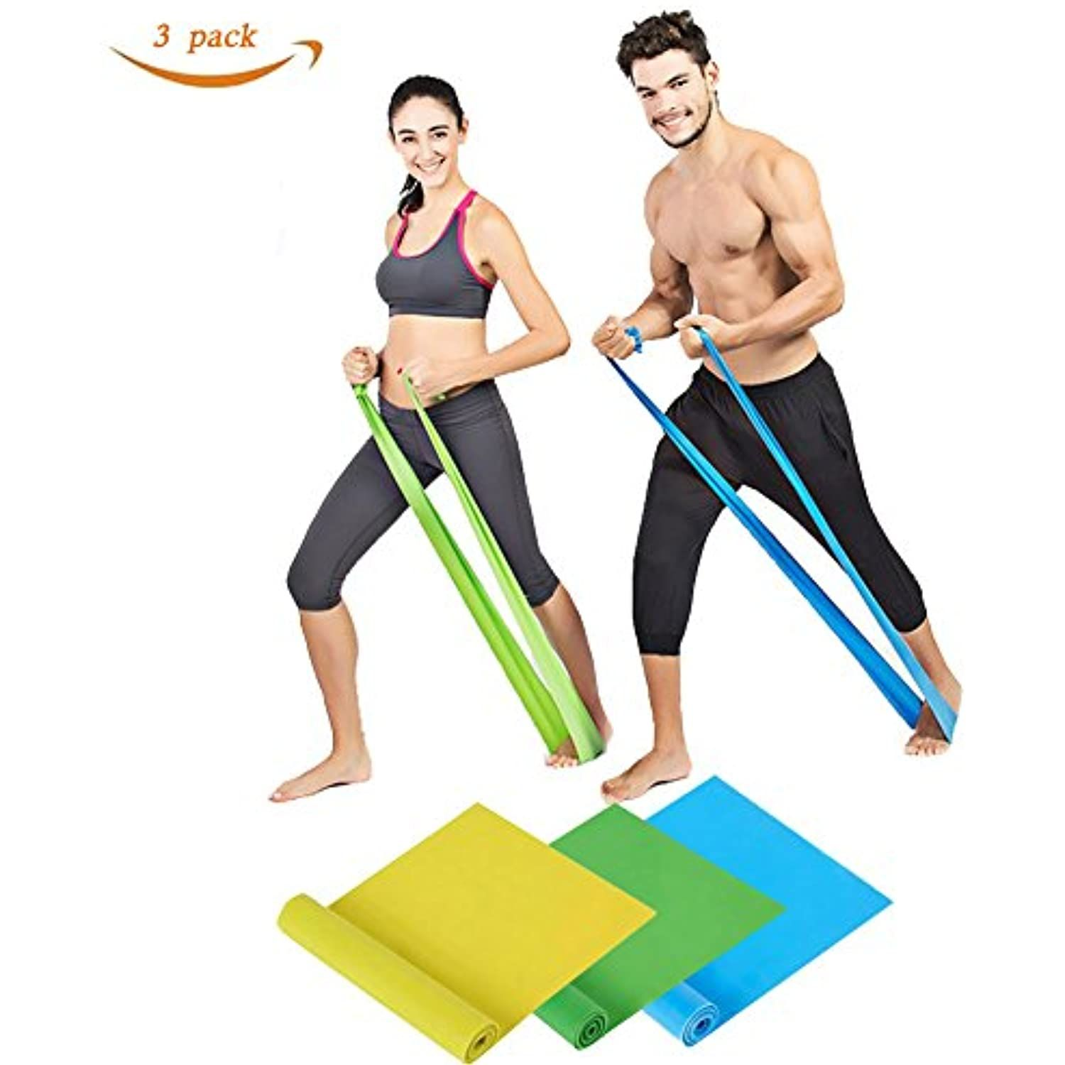 Elastic Fitness Equipment Stretch Resistance Bands Yoga Rubber Loop