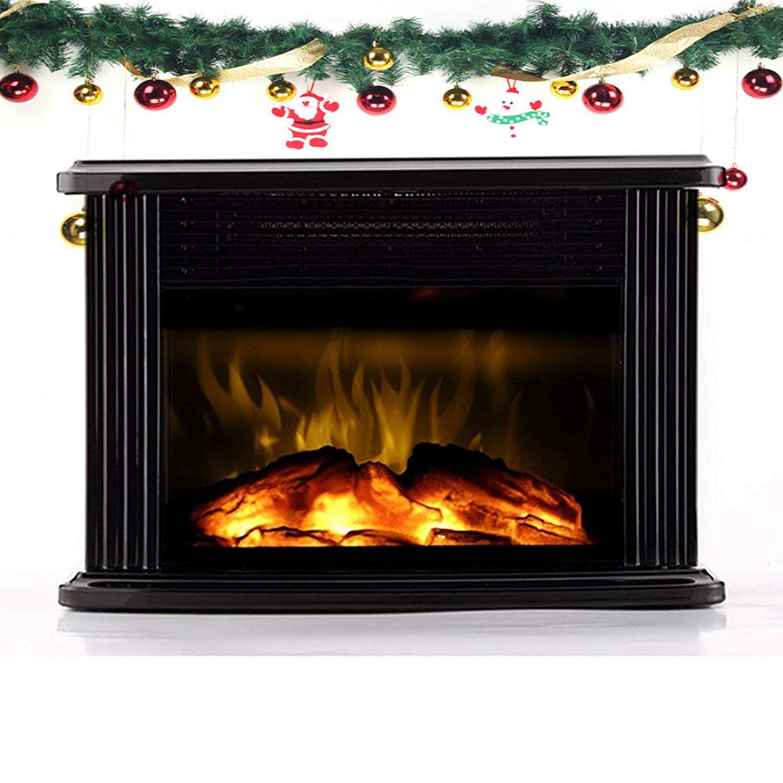 Amazon Com Warmtec 750w 1500w 14 Mini Electric Fireplace Heater