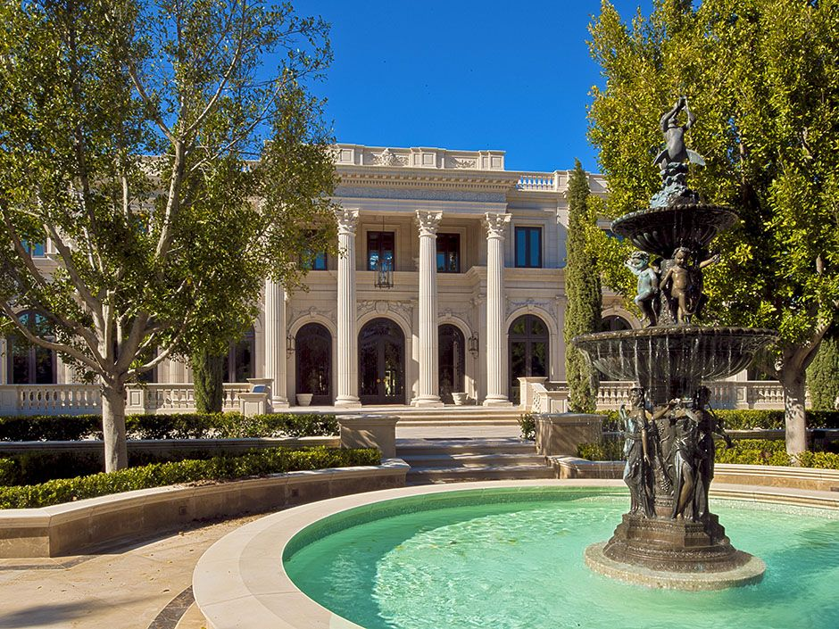 Architecture luxury interiors rosamariagfrangini for Luxury homes in beverly hills ca