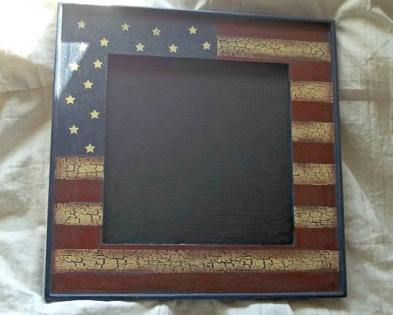 Americana Wall Decor Plaques Signs Countrya Rustic American Chalkboard Wall Sign Reclaimed Wood Sign