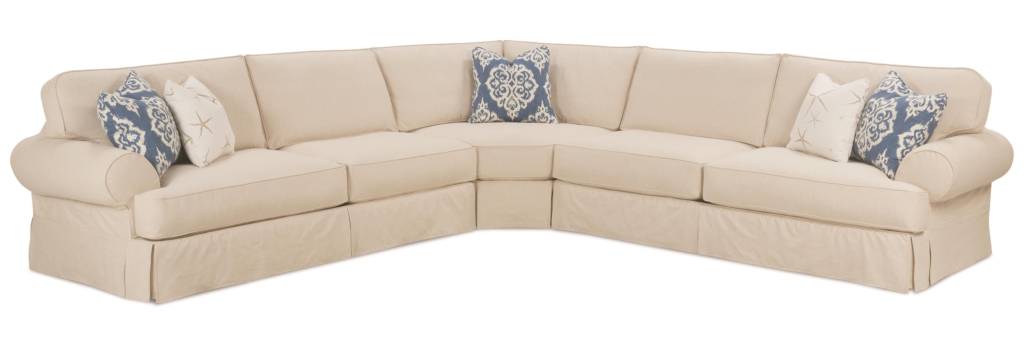 Paul schatz furniture portland or  Addison Traditional Sectional Sofa by Rowe  For the Home