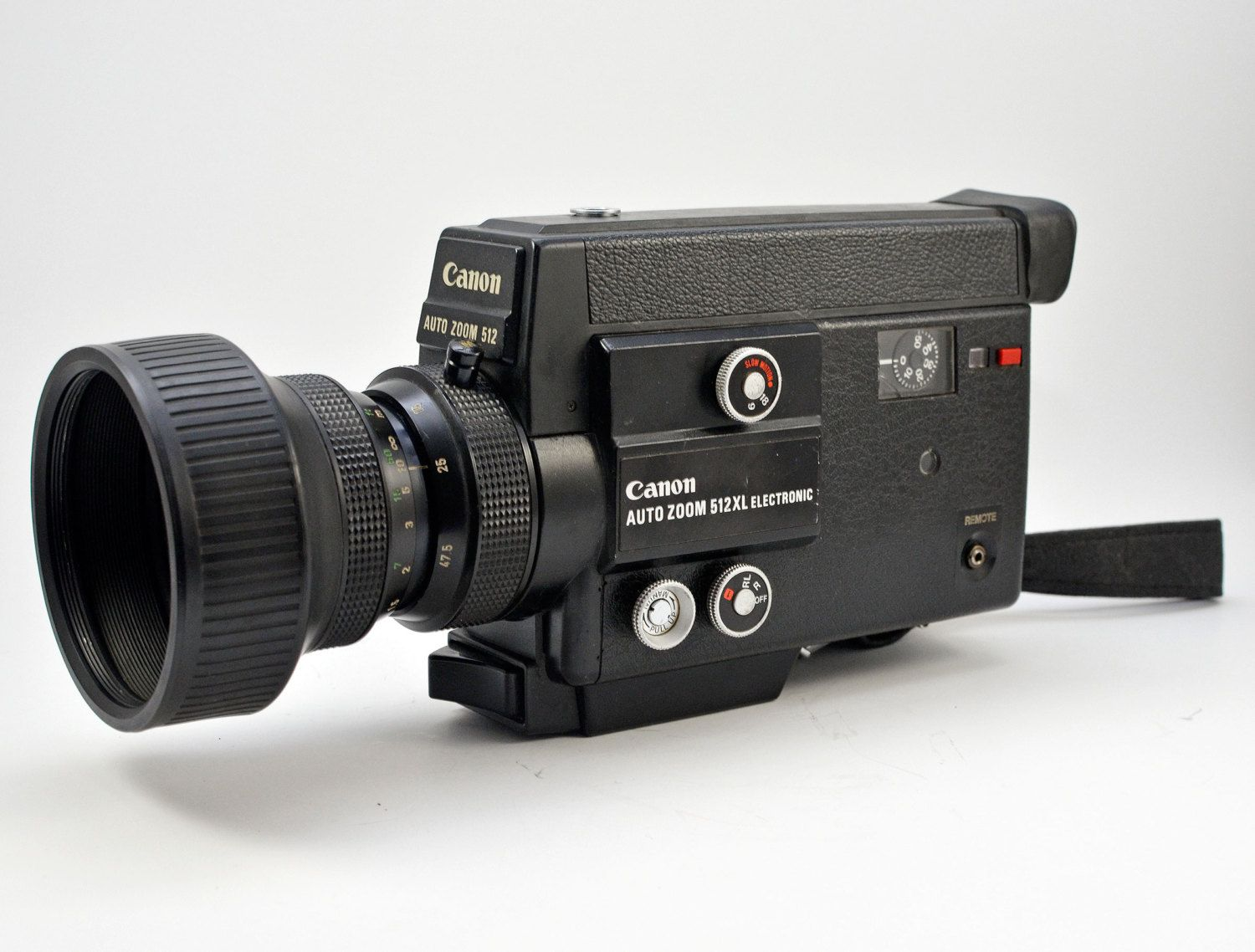 Canon Auto Zoom 512XL Electronic Super 8 Type 8mm Movie Camera by vtgwoo on  Etsy